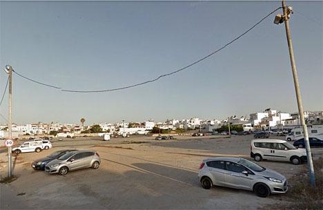 Utomhusparkeringen Carabeo i Nerja. Foto: Google Maps