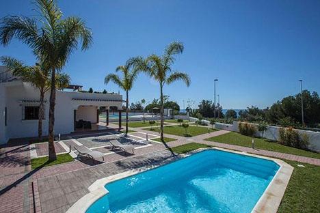 Villan ligger i Bello Horizonte, öster om Marbella. Foto: Tripadvisor