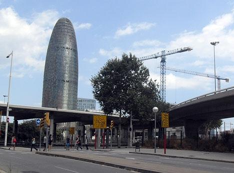 Torre Glòries i Barcelona. Foto: Gulliveria/Wikimedia Commons