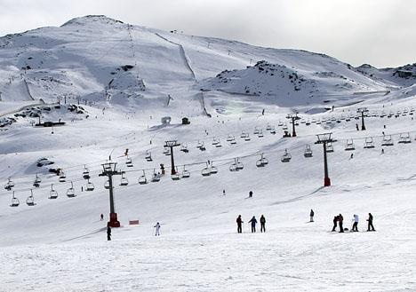 Skidsäsongen i Sierra Nevada har varat 163 dagar, även om pisterna fick stänga tolv dagar på grund av oväder.