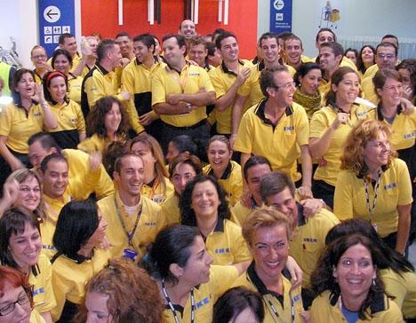 Sammanlagt 60 platser har annonserats ut av IKEA Málaga via arbetsförmedlingen.