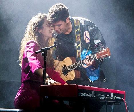 Alfred och Amaias rysligt söta visa gick inte hem, speciellt hos tv-röstarna. Foto: Eurovision-spain/Wikimedia Commons