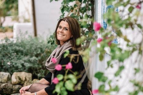 Birgitta Bergin bor stora delar av året i Marbella. Foto: Agata Jensen