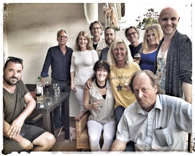 "Årets deltagare i ""Costa Tropical Music Camp"" fick bland annat tips av Tomas Ledin. Foto: Janett Jensen"