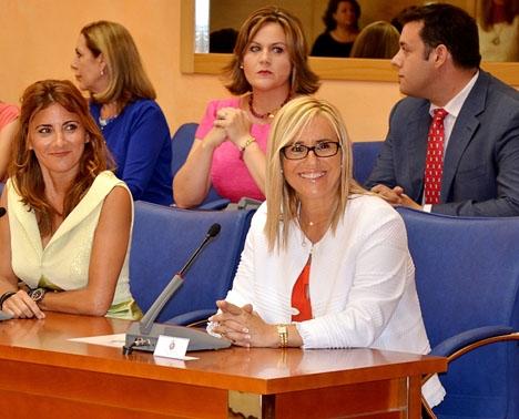Fuengirolas borgmästare Ana Mula kallar sin kollega i Mijas Carlos Maldonado för