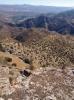 Från utsiktsplatsen kan vi skåda stora delar av Málagaprovinsen.