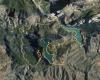 Den cirkulära vandringen från El Chorro, via Bobastro, är på 15,5 kilometer med en höjdskillnad på 590 meter.