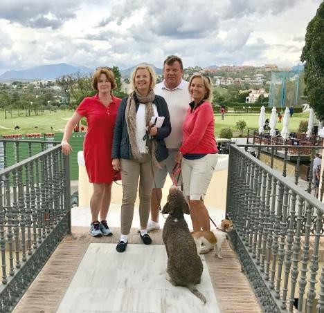 Styrelsen i Moderaternas nya lokalförening valdes 1 maj vid ett möte på Los Naranjos  Golf Club.