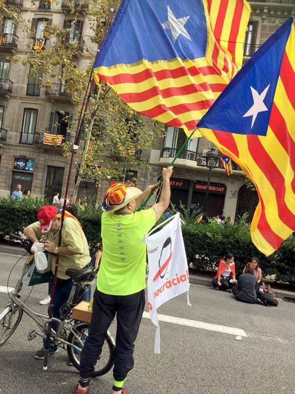 Efter 218 dagar har Katalonien återfått sitt självstyre, om dock ej full självständighet. Foto: Petra S.G.