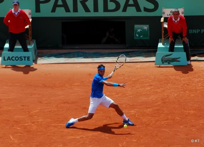 Nadal visade ingen nåd med utmanaren Thiem, i sin elfte final i Roland Garros. Foto: Carine06/Wikimedia Commons ARKIV