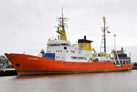 Räddningsfartyget Aquarius, som ratats av både Italien och Malta. ARKIVBILD Foto: Ra Boe/Wikipedia