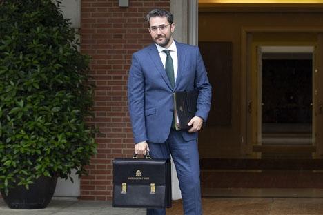Màxim Huerta tillträdde ministerposten för mindre än en vecka sedan. Foto: Pool Moncloa/César P.Sendra/Wikimedia Commons
