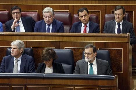 Rajoy har varit parlamentsledamot för Partido Popular sedan 1989.