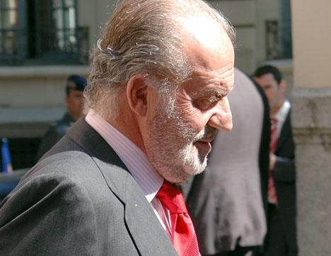 Arkivbild från 2009, då den spanske monarken uppges i praktiken ha levt tillsammans med prinsessan Corinna.