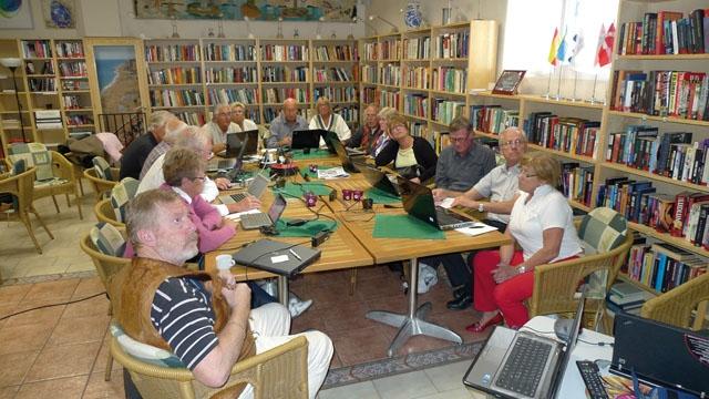 Spansk-Nordiska Sällskapets lokalavdelning i Fuengirola arrangerar i höst föreningens 50-årsjubileum. De räknar med drygt 2 500 medlemmar till våren, men behöver fler aktiva volontärer. Foto: AHN