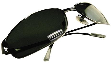 Stölden av ett par solglasögon har lett till att en av medlemmarna av den beryktade
