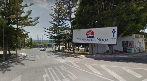 Branden på Hotel Marinas de Nerja var snabbt under kontroll. Arkivfoto: Google Maps