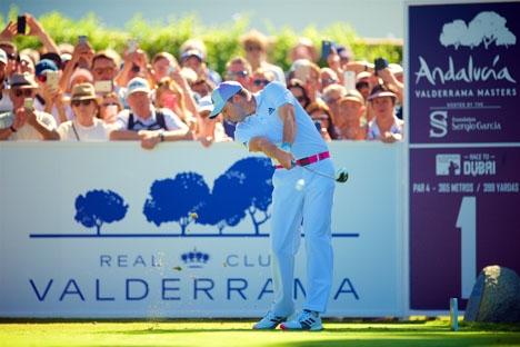Sergio García har vunnit två av de tre tidigare upplagorna av Valderrama Masters och är i år åter medarrangör. Foto: ©RC Valderrama