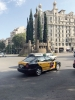 Den senaste strejken i juli startade i Barcelona, men en stor del av taxisektorn i övriga Spanien inledde stridsaktioner av solidaritet.