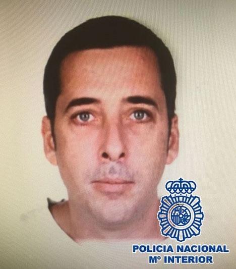 Antonio Ortega Urbano försvann 22 januari när han promenerade med sin hund. Foto: Policía Nacional