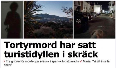 Bottenpriset efter helgens mediedrev på Costa del Sol går till Aftonbladet.
