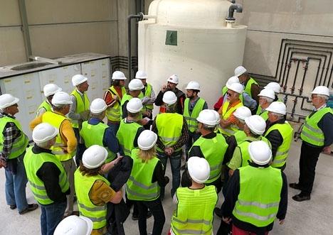 Miljödepartementet räknar med att reningsverket i Nerja ska kunna testköras under första kvartalet nästa år. Foto: Lars Joelson