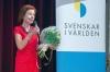 Karin Ehnbom-Palmquist lämnar 1 oktober posten som generalsekreterare för Svenskar i Världen efter tio år och hon avtackades vid lunchen på Grand Hotel. Foto: Bengt Säll