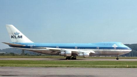 Ett av flygplanen som förolyckades vid Los Rodeos-flygplatsen 1977. Foto: clipperarctic/Wikimedia Commons