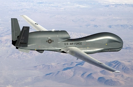 Modell av samma spionplan som störtade utanför Rota. Foto: U.S. Air Force photo by Bobbi Zapka/Wikimedia Commons