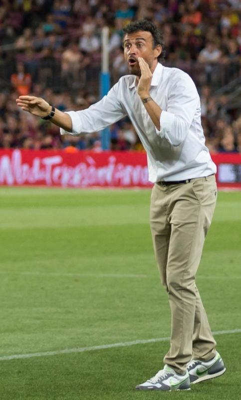 Nye landslagstränaren Luís Enrique har inlett med seger över både England och Kroatien.