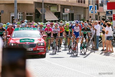 Årets Spanien runt har varit extremt het. Foto: Pedro Semitiel/Wikimedia Commons