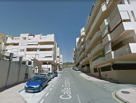 Calle Espronceda ligger i norra Estepona, nära motorvägen. Foto: Google Maps