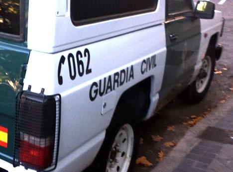 Guardia Civil har gripit den misstänkta gärningsmannen mindre än två dygn efter dådet.