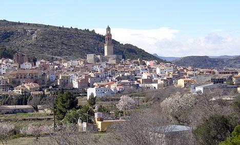 Jérica är en av många spanska byar som släpper ut tjurar under sina åriga festligheter. Foto: Pelayo2/Wikimedia Commons