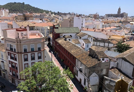 Mötet ägde rum i en lägenhet i Málaga stad.