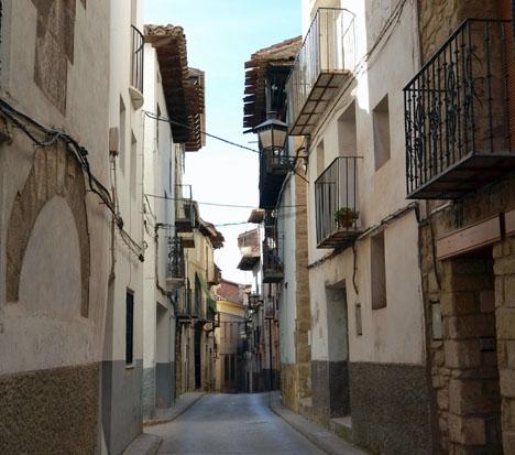 Det senaste dödsfallet inträffade i byn Mora de Rubielos. Foto: Joanbanjo/Wikimedia Commons