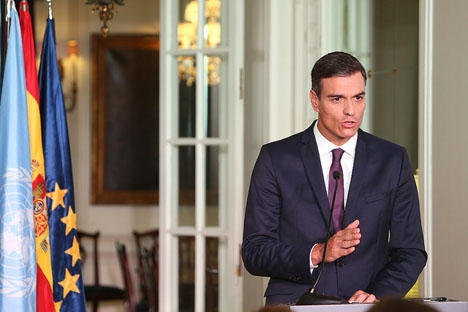 Regeringschefen Pedro Sánchez redovisar tillgångar på drygt 342 000 euro och låneskulder på göra 200 000.