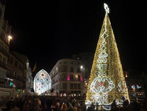 Handeln i Málaga vill att julfirandet inte koncentreras enbart till Calle Larios och Plaza de la Constitución.