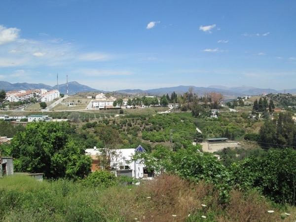 De tre kropparna hittades på en lantgård utanför Coín. Foto: Tak/Wikimedia Commons