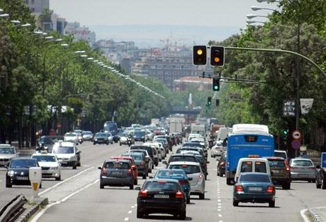 En rad nya förordningar ska reglera trafiken i Madrid i större utsträckning.