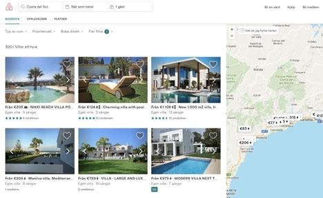 Omkring en tredjedel av det tidigare utbudet av privata hyresobjekt i Andalusien har sållats bort från Airbnb.