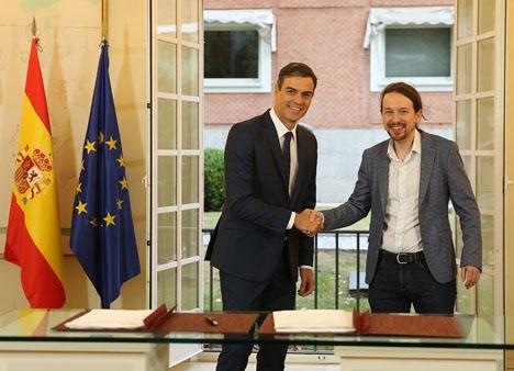 Budgetöverenskommelsen mellan regeringen och Unidos Podemos garanterar ej att den går igenom i parlamentet.