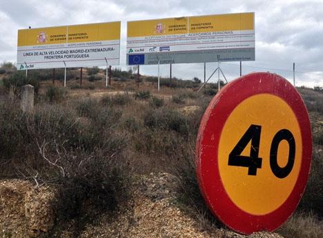 Renfe medger att servicen i Extremadura ej hållet måttet.