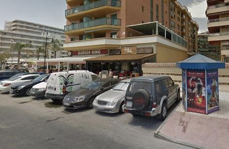 Dådet inträffade i den asiatiska restaurangen Tiki, i Torremolinos. Foto: Google Maps