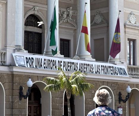 I Cádiz ser vi ett av de största exemplen på dubbelmoral i Spanien i dagsläget. ARKIVBILD