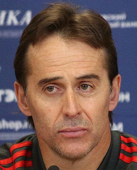 Julen Lopetegui varade endast tio omgångar som tränare i Real Madrid.
