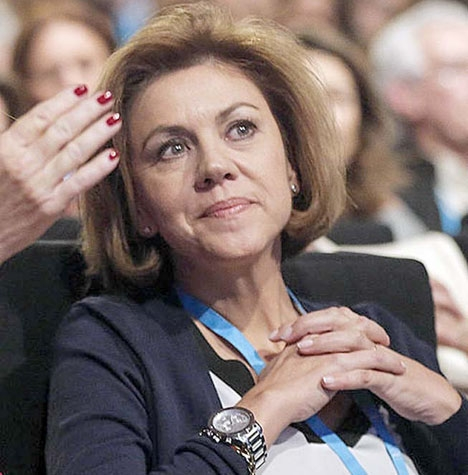 María Dolores de Cospedal har varit generalsekreterare i Partido Popular i nära tio år, försvarsminister och regionalpresident i Castilla-La Mancha. Hon kandiderade i juli till partiledarposten.