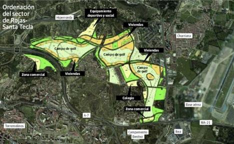 Skiss av byggprojektet, som har en budget på 60 miljoner euro.