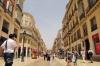 Málaga stad är en av de platser där turisterna tar upp allt större plats i centrum. I Marbella har utbudet av platser i privata lägenheter till uthyrning redan gått om antalet hotellbäddar.
