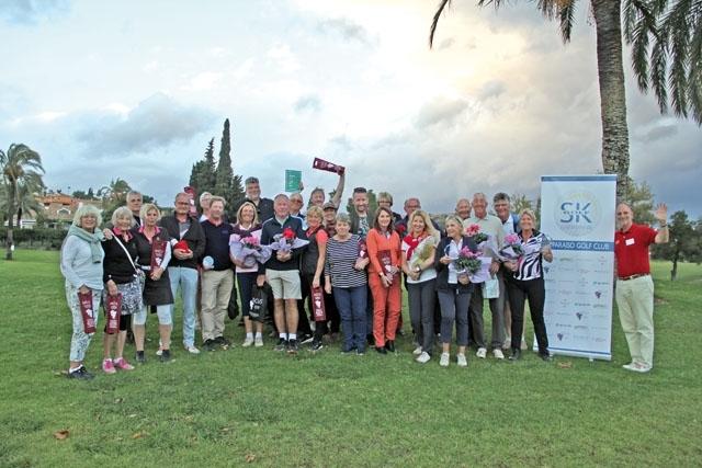 Sydkustens hösttävling trotsade elementen och kunde hållas i mestadels sol 20 november, på El Paraíso Golf.